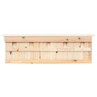 vidaXL Sparrow House with 5 Rooms 68x15x21 cm Firwood