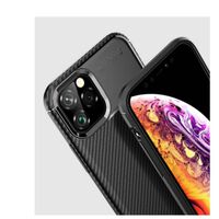 iPhone 11 Pro Max | Carbon Fiber Soft TPU Case