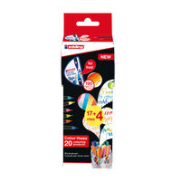 edding 21 Piece Brush Pen Set with Colour Mixer