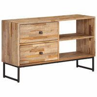 vidaXL TV Cabinet Reclaimed Teak Wood 90x30x55 cm
