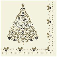Swantex 'Tis The Season Christmas Swansoft Napkins 40cm - 10x50