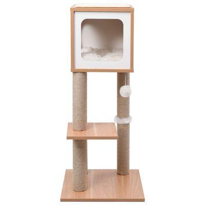 vidaXL Cat Tree with Sisal Scratching Mat 90 cm