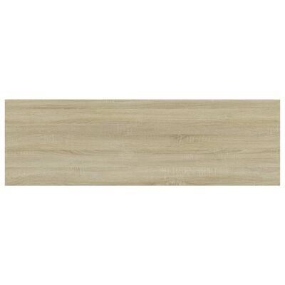 vidaXL Bookshelf Boards 8 pcs Sonoma Oak 80x20x1.5 cm Chipboard