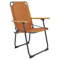 Bo-Camp Folding Camping Chair Bushwick Clay