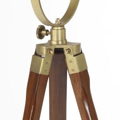vidaXL Tripod Floor Lamp Solid Mango Wood 97 cm
