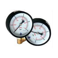 16 Bar Pressure Gauge Manometer 1/4 Inch Side Entry 63mm