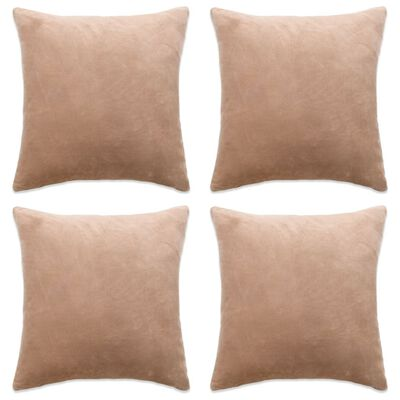 These cushion covers are suitable for the cushions with a size of up to 40 x 40 cm. They instantly make a striking addition to interior.