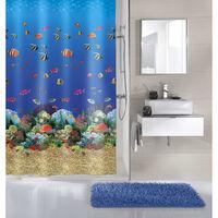Kleine Wolke Shower Curtain Malediven 180x200 cm Multicolour