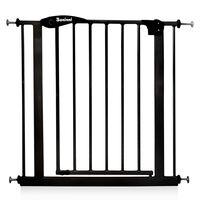 Baninni Safety Gate Vicino Metal 75-85cm Black