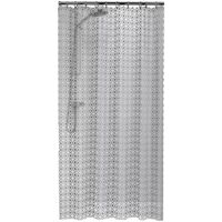 Sealskin Shower Curtain Hammam 180 cm Silver 210861318