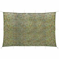 vidaXL Camouflage Net with Storage Bag 4x6 m