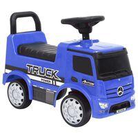 vidaXL Step Car Mercedes-Benz Truck Blue