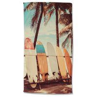 Good Morning Beach Towel VINTAGE SURF 100x180 cm Multicolour