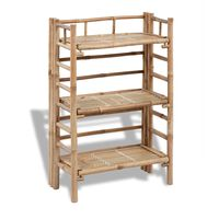3-tier Bamboo Plant Rack