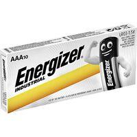 Energizer Industrial Alkaline Aaa Batteries Pack Of 10