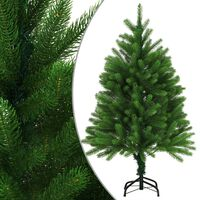 vidaXL Artificial Christmas Tree Lifelike Needles 120 cm Green