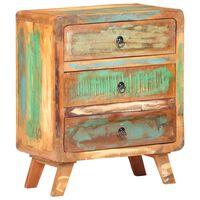 vidaXL Sideboard 60x35x75 cm Solid Reclaimed Wood