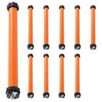 vidaXL Tubular Motors 10 pcs 40 Nm