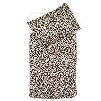 Jollein Duvet Cover with Pillowcase Leopard 100x140 cm Brown