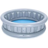 Bestway Spaceship Above Ground Pool With Repair Patch For Kids