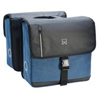 Willex Double Business Bag 40 L Black and Blue