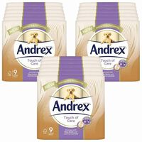 Andrex Toilet Roll Touch Of Care With Shea Butter, 162 Rolls