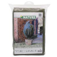 Nature Winter Fleece Cover 70 g/sqm Green 1.5x2 m