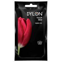 Dylon Hand Fabric Dye Sachet, Tulip Red, 1pk Of 50g