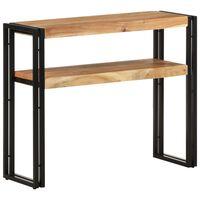 vidaXL Console Table 90x30x75 cm Solid Acacia Wood