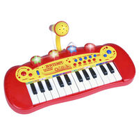 Bontempi Toy Electronic Keyboard with Microphone 24 Key