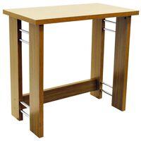 BALANCE - Office Desk / Computer Workstation / Dressing Table - Oak