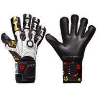 Elite Sport Goalkeeper Gloves Calaca Size 8 Black