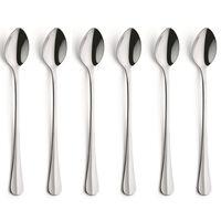 Amefa 6 Piece Iced Teaspoon Set Baguette