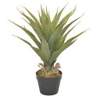 vidaXL Artificial Plant Yucca with Pot Green 90 cm