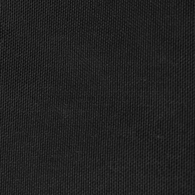 vidaXL Sunshade Sail Oxford Fabric Trapezium 4/5x4 m Black