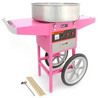 KuKoo Candy Floss Maker Machine Event Catering Party & Matching Cart