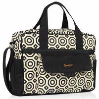 """420942 Baninni Diaper Bag """"Amalfi"""" Flake BNDB005-FKE"""