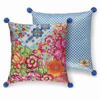 Happiness Decorative Pillow ZAIRA 48x48 cm Polyvelvet