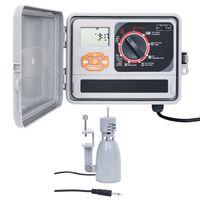 vidaXL Garden Water Irrigation Controller with Rain Sensor