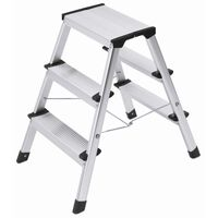 Hailo Folding Stepladder L90 Step-ke 2x3 Steps 60 cm 4443-701