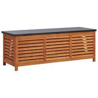 vidaXL Garden Storage Box 150x50x55 cm Solid Eucalyptus Wood